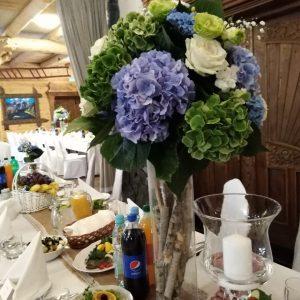 hortensja-na-stoły-weselne-dekoracja
